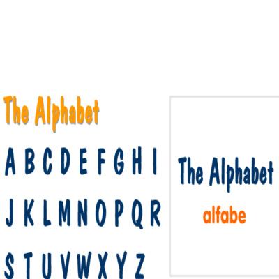 Ingilizce kelimeler ingilizce renkler ingilizce aylar ingilizce alfabe