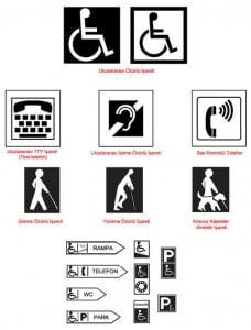 ingilizce işaretler