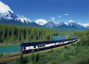 Tren yolculuğunda İngilizce konuşmak.
