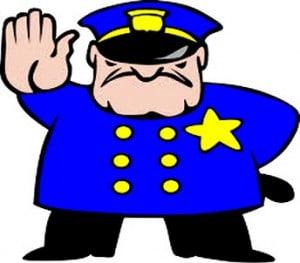 Polis ile İngilizce konuşma örnekleri